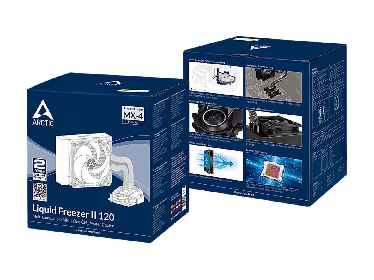 Υδρόψυξη Liquid Freezer II 120 Rev.4 (AM4 Bracket Included) Arctic ACFRE00067B image