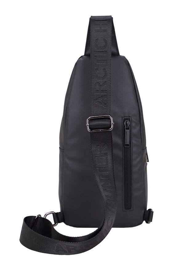 Τσάντα Crossbody XB13001-BK, αδιάβροχη, μαύρη image