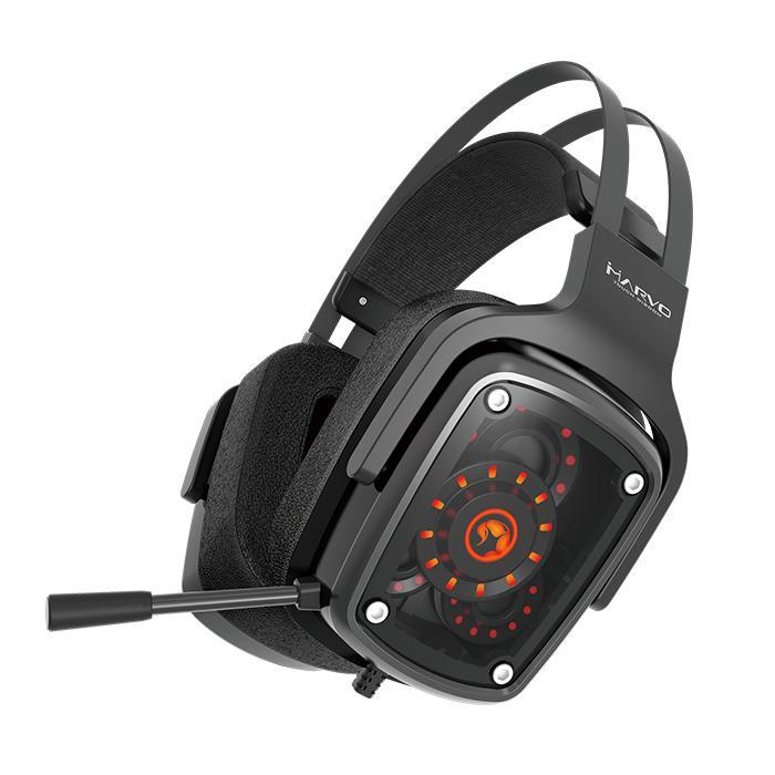Ακουστικά Κεφαλής Scorpion 7.1 HG9046 Marvo PS4, Xbox One, PC Black image