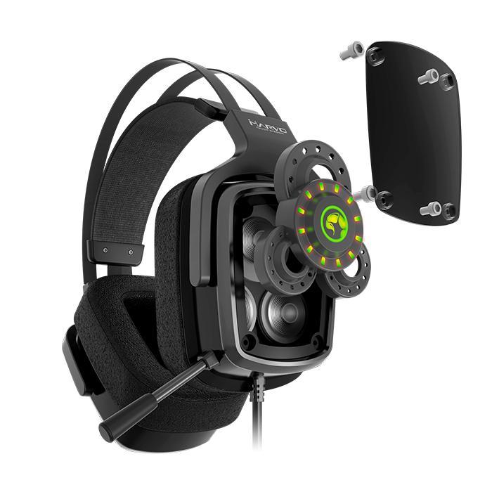 Ακουστικά Κεφαλής Scorpion 7.1 HG9046 Marvo PS4, Xbox One, PC Black