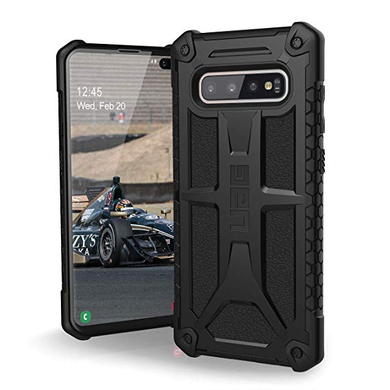 "Samsung Galaxy S10 Plus 6.4"" UAG Monarch Case Black 211351114040"