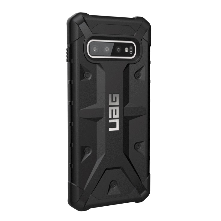 "Samsung Galaxy S10 Plus 6.4"" UAG Pathfinder Case Black 211357114040"