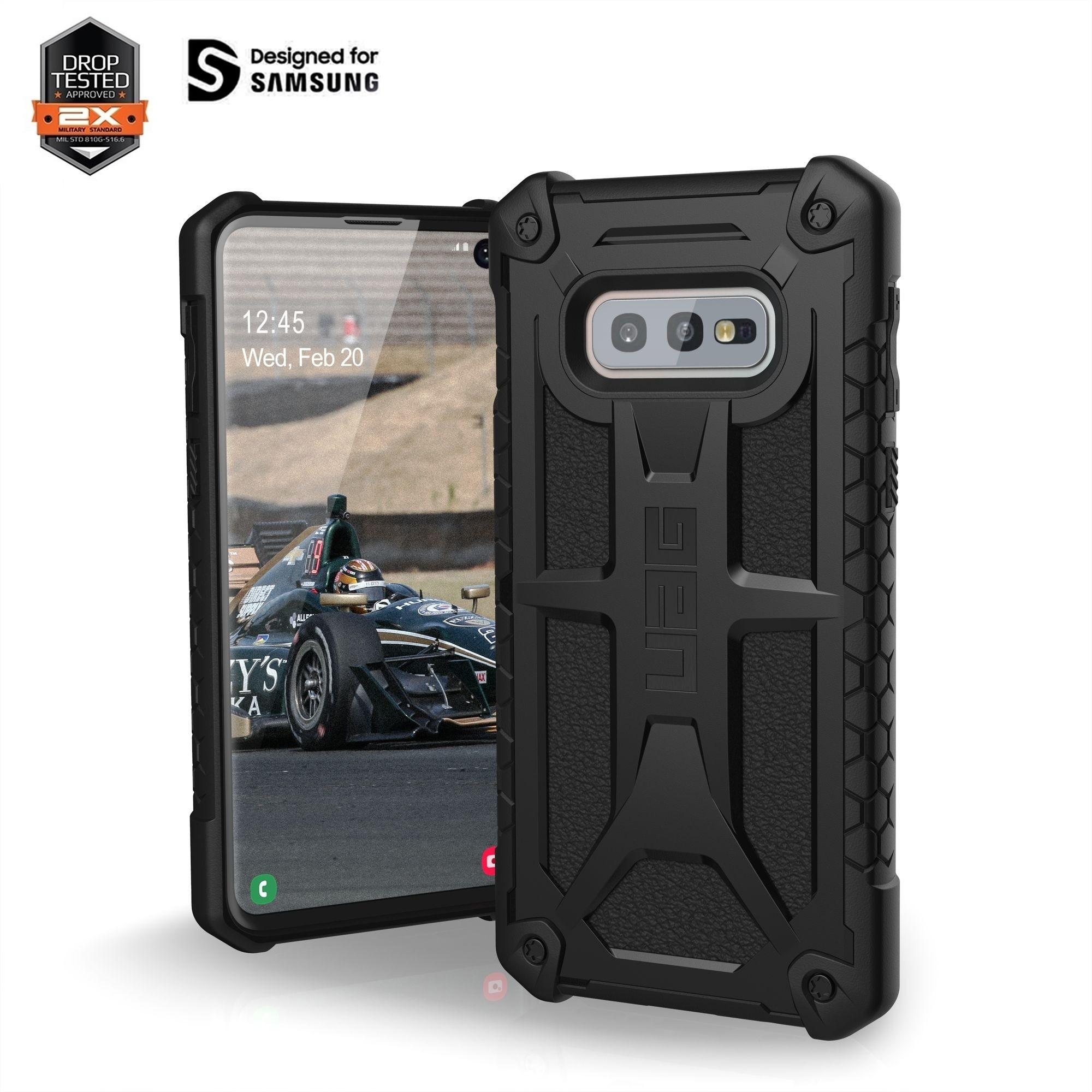 "Samsung Galaxy S10e 5.8"" UAG Monarch Case Black 211331114040"