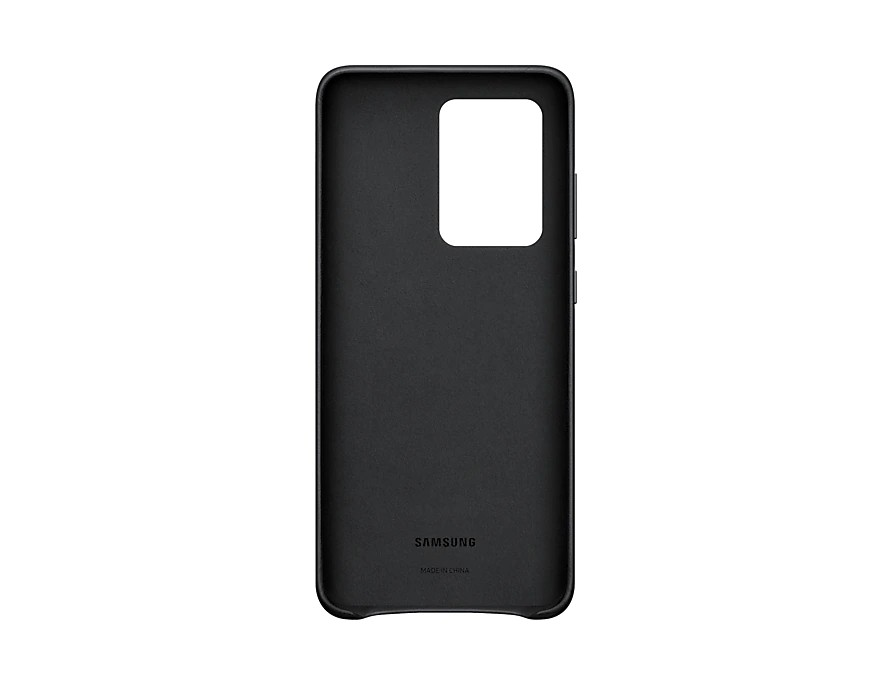 Original Leather Cover Samsung Galaxy S20 Ultra G988 Black EF-VG988LBE image