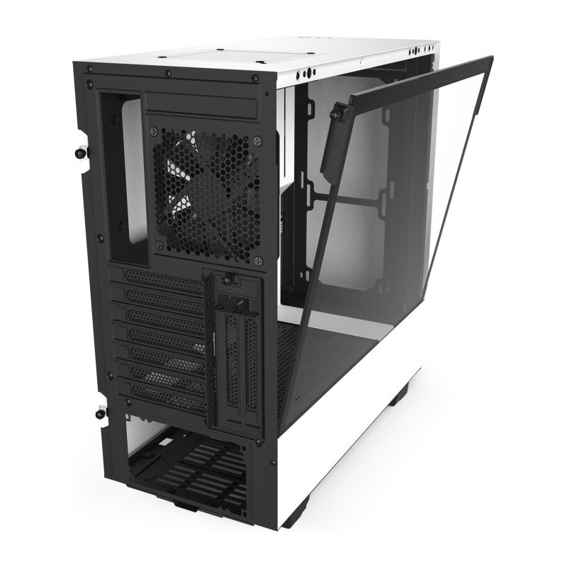 NZXT H510i White Tempered Glass Gen.2 CA-H510i-W1 image