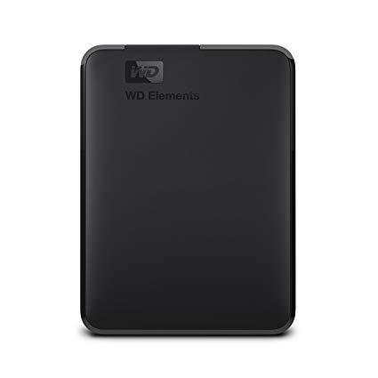 """Εξωτερικός Σκληρός Western Digital Elements WDBU6Y0040BBK 4TB USB 3.0 2.5"""" image"""