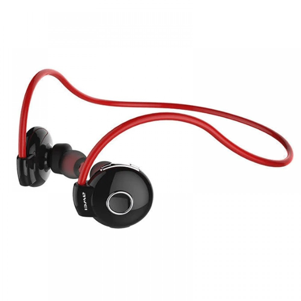 Bluetooth Stereo Awei A845BL Wireless Smart Sports RED Headphones  image