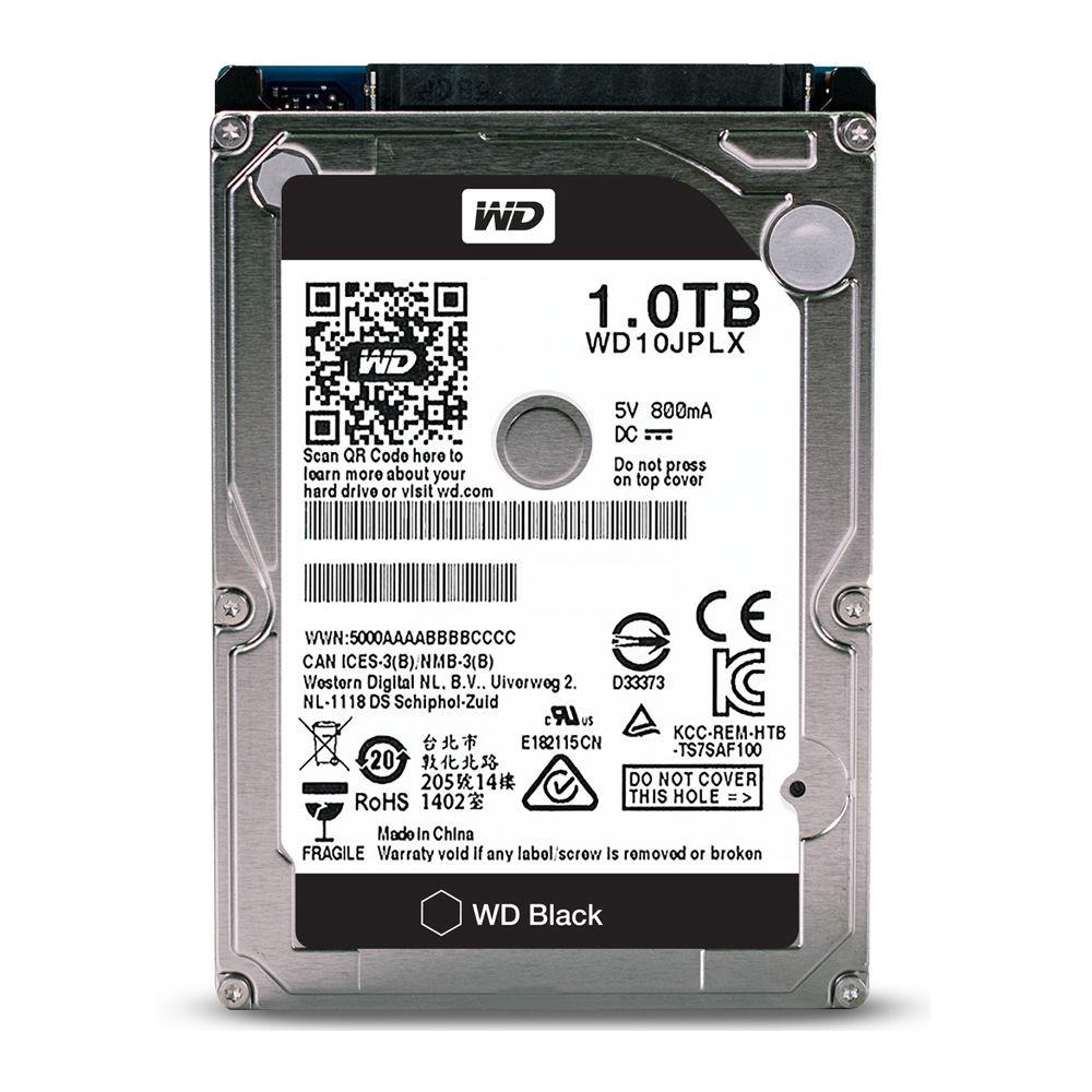 """HDD Western Digital Black 2.5"""" 1TB SATA 3 WD10JPLX image"""