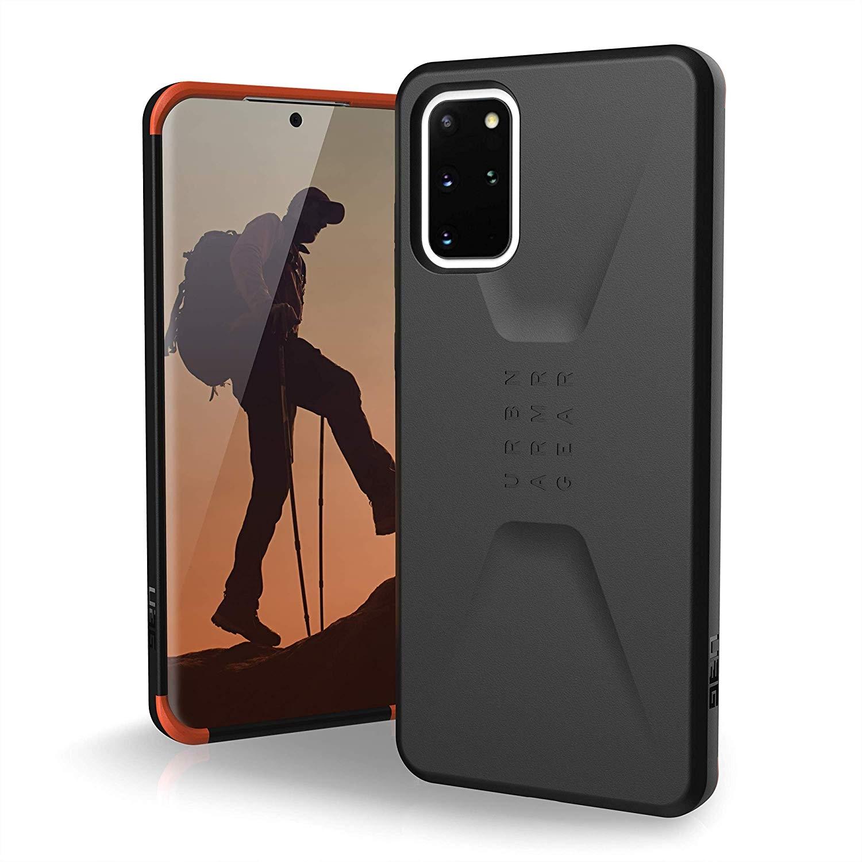 "Samsung Galaxy S20 Plus 6.7"" UAG Civilian Case Black 21198D114040"