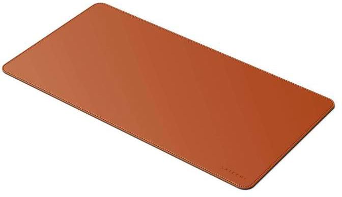 Eco Leather Deskmate Mousepad L Satechi 584x310 Brown ST-LDMN image