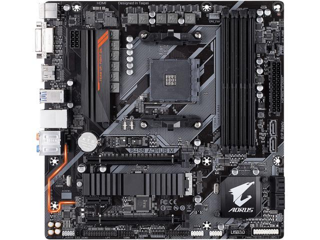 Gaming Motherboard Socket AM4 B450 AORUS M Gigabyte  image