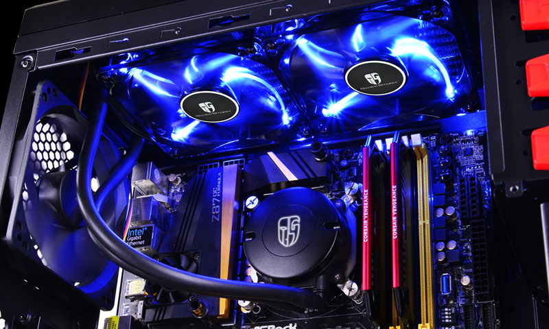 Υδρόψυξη Gamerstorm Maelstrom 240T With Blue LED Fan Με ΔΩΡΟ Mousepad DP-GS-H12RL-MS240TAM4 image