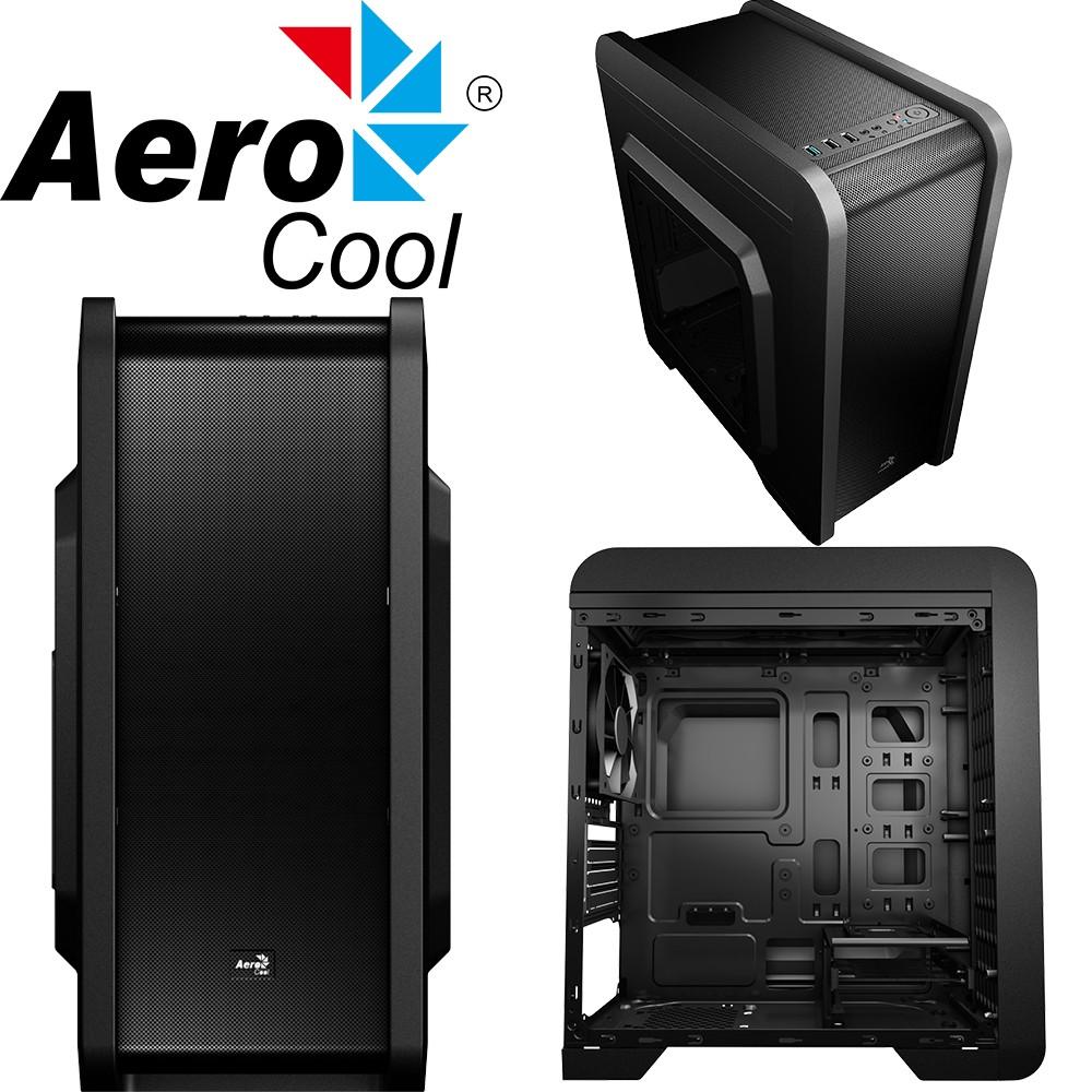 Κουτί Η/Υ Mini Tower Aerocool QS-240 With Window Black  image