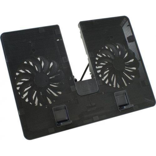 """Βάση Στήριξης Laptop 15.6"""" Με 2*140mm Ανεμιστήρες U PAL DP-N214A5-UPAL image"""