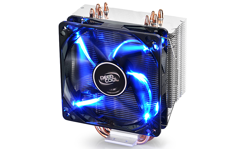 Ψύκτρα CPU Gammaxx 400 Black With Blue LED For Intel/AMD Deepcool  image