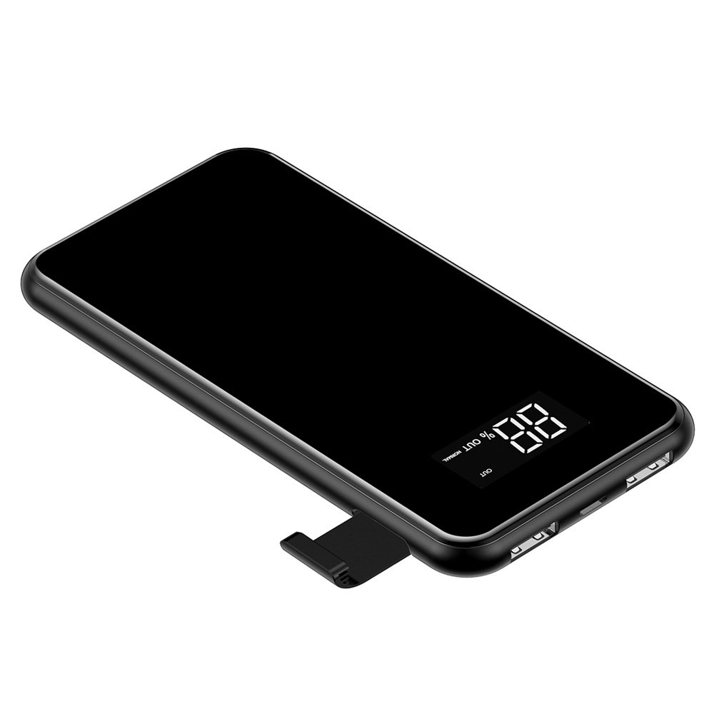 Power Bank Wireless Charging External Battery 8000mAh Baseus image