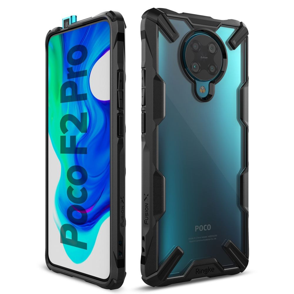 Xiaomi Poco F2 Pro Fusion X Ringke Black MIL STD 810G-516.6  image