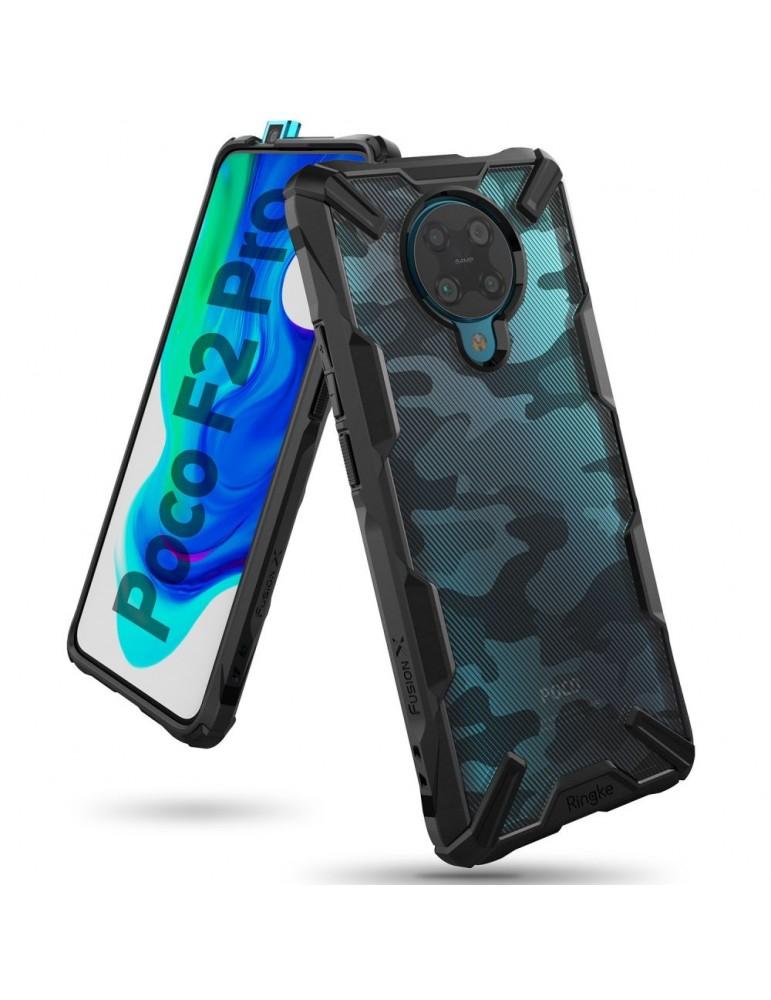 Xiaomi Poco F2 Pro Fusion X Ringke Camo Black MIL STD 810G-516.6  image