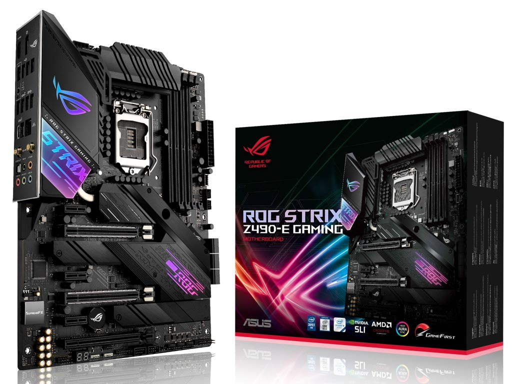 Motherboard Asus Rog Strix Z490-E Gaming 90MB12P0-M0EAY0 image