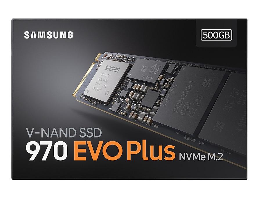 SSD 970 EVO Plus  NVMe M.2 500GB Samsung MZ-V7S500 image