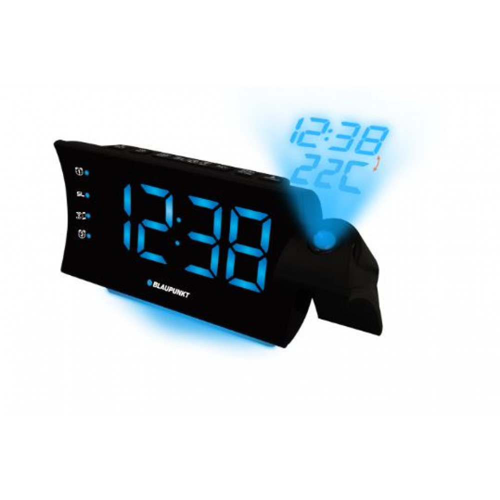 Ραδιόφωνο-Ρολόι Με Προβολέα USB, Alarm Blaupunkt CRP81USB image