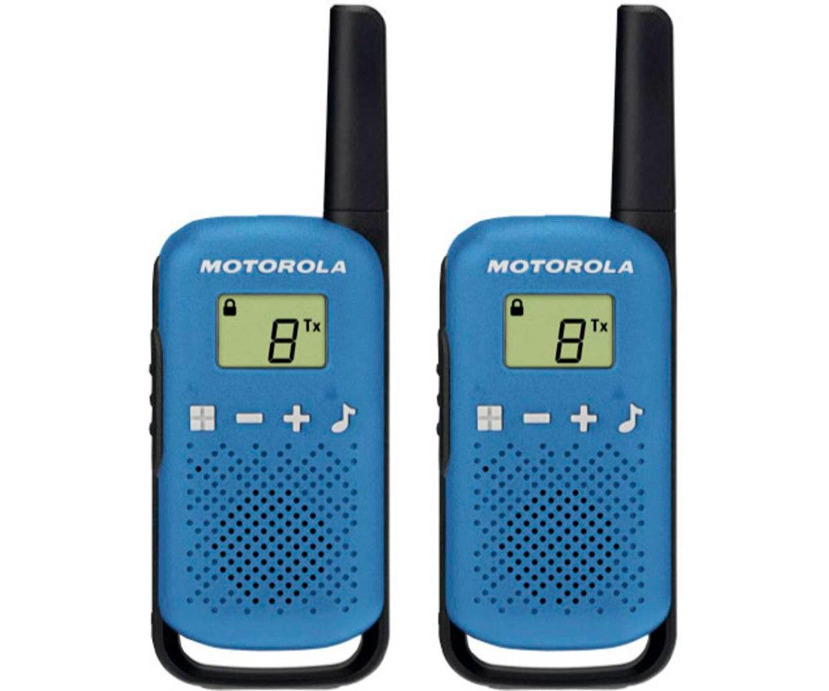 Motorola Talkabout T42 twin-pack blue Walkie-Talkie image