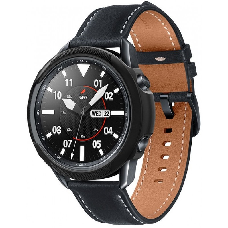 Liquid Air Spigen Galaxy Watch 3 45mm ACS01560 Black image