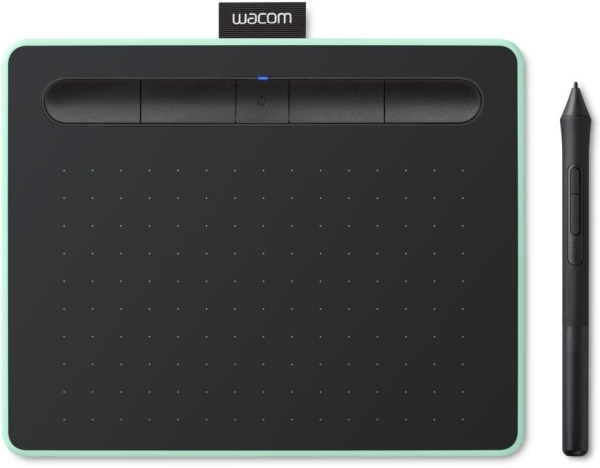 Wacom Pen Tablet Intuos Green Pistachio CTL-4100WLE image