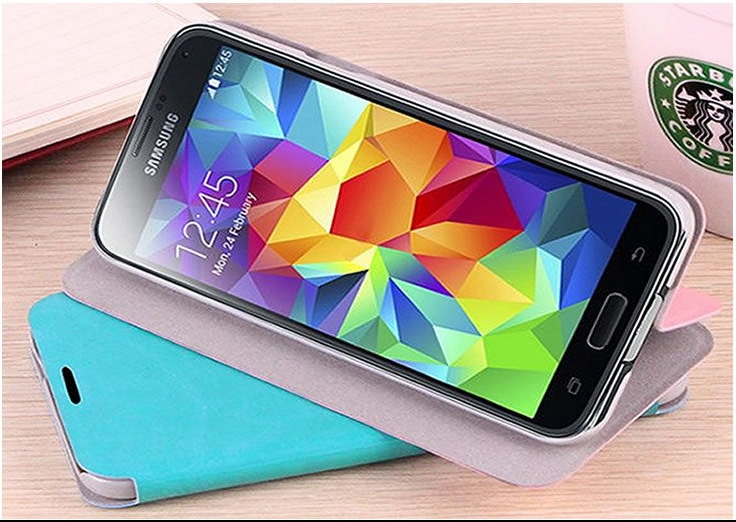 Samsung Galaxy Alpha Flip Case Black image