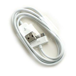 Καλώδιο Σύνδεσης Apple MA591G για iPhone 3G, 3GS, 4,4S White Original Bulk image