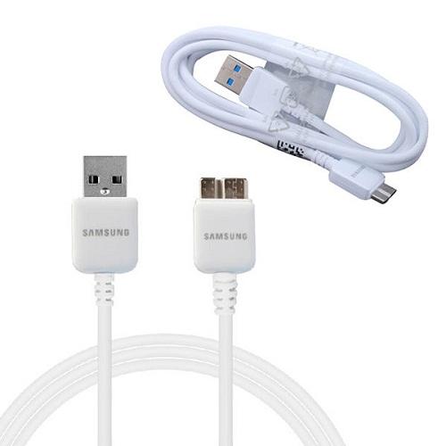 Καλώδιο Σύνδεσης Samsung USB 3.00 ET-DQ11Y1WE 1.5m Note 3, Galaxy S5 White Original Bulk image