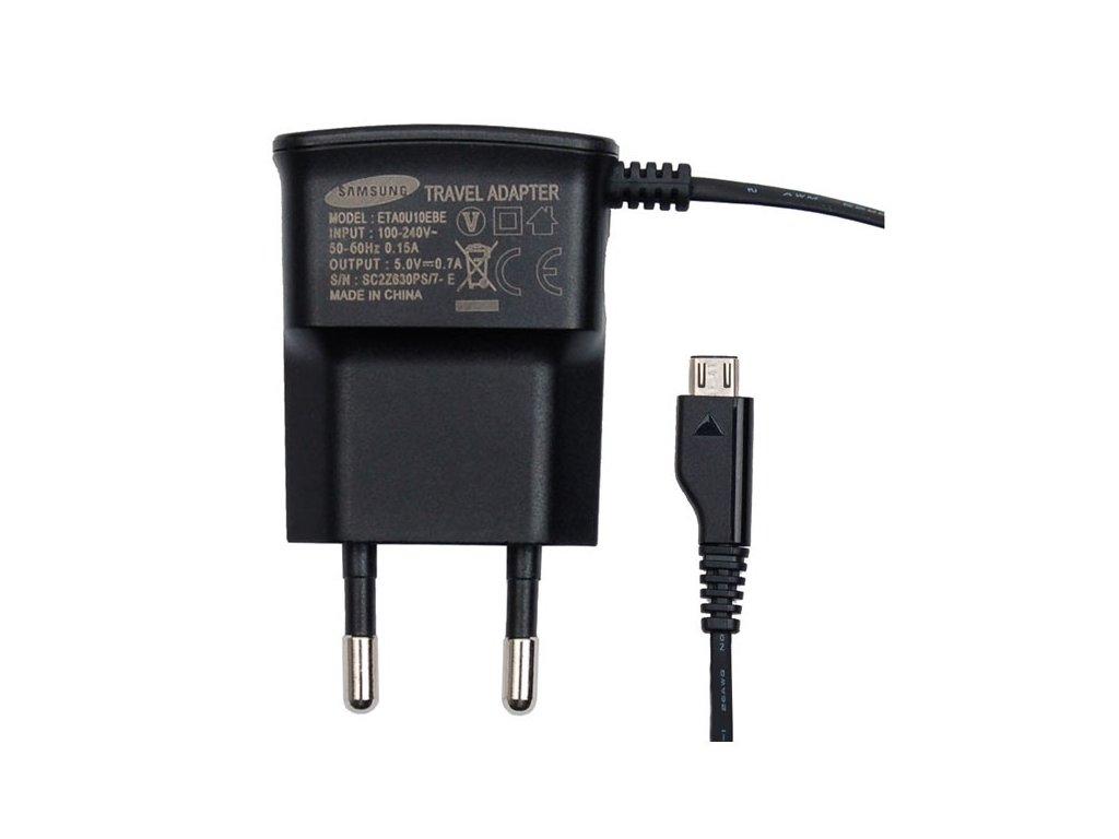Γνήσιος Φορτιστής Samsung ETA-0U10EBE Black 700mAh Bulk image