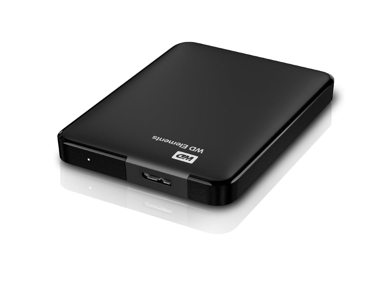 """Εξωτερικός Σκληρός Western Digital Elements WDBUZG5000ABK 500GB USB 3.0 2.5"""" image"""