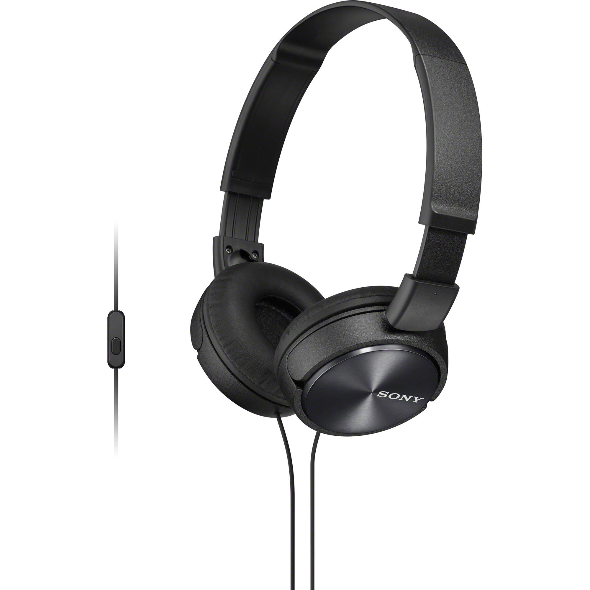 Ακουστικά Κεφαλής Στερεοφωνικά Sony MDR-ZX310AP Black Android, Apple, BlackBerry image
