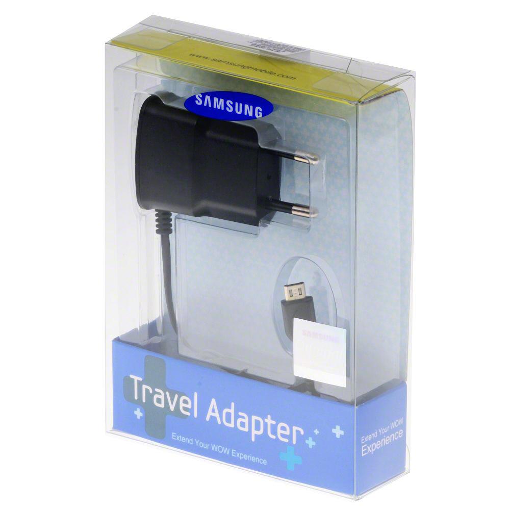 Γνήσιος Φορτιστής Με Συσκευασία Samsung ETA-0U10EBE Black 700mAh image