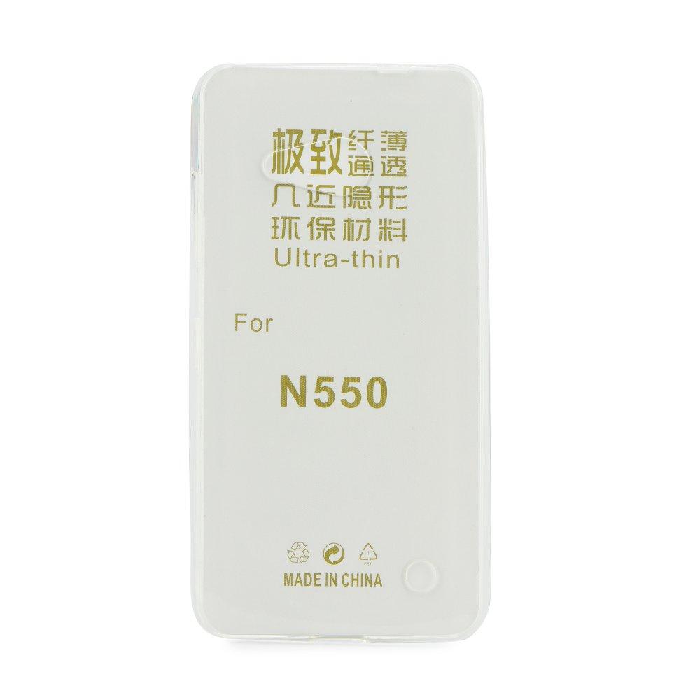 Microsoft Lumia 550 Silicone Case Ultra Slim 0.3mm Διάφανη image