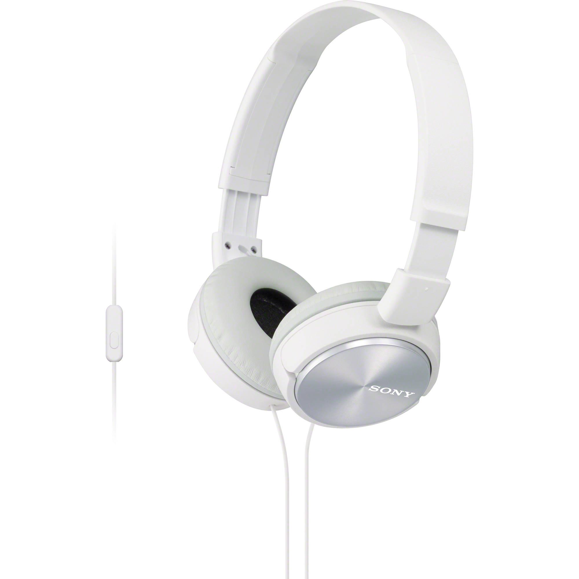 Ακουστικά Κεφαλής Στερεοφωνικά Sony MDR-ZX310AP White Android, Apple, BlackBerry image