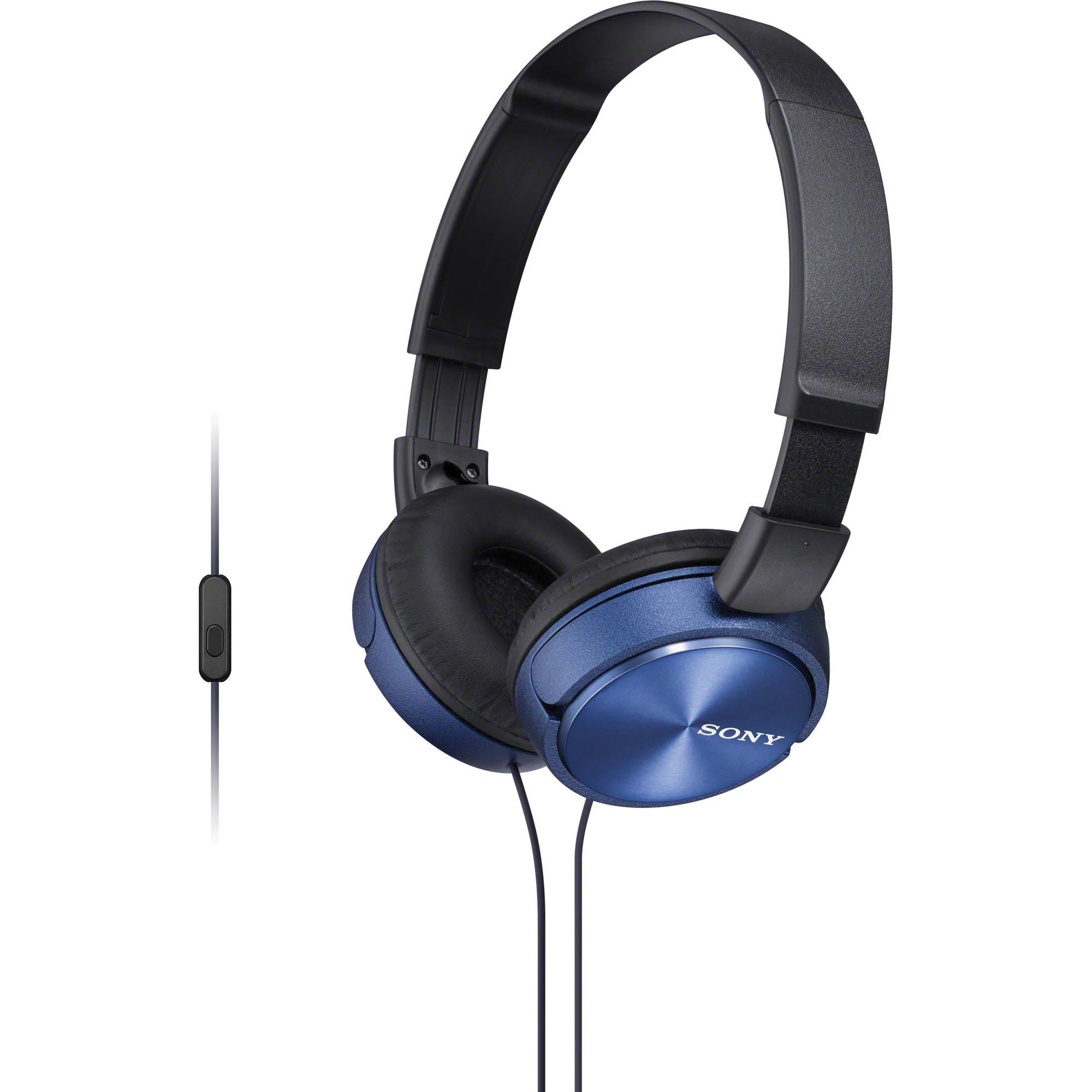 Ακουστικά Κεφαλής Στερεοφωνικά Sony MDR-ZX310AP Blue Android, Apple, BlackBerry image