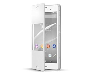 Sony Xperia Z3 Compact Original Style Cover SCR26 White image