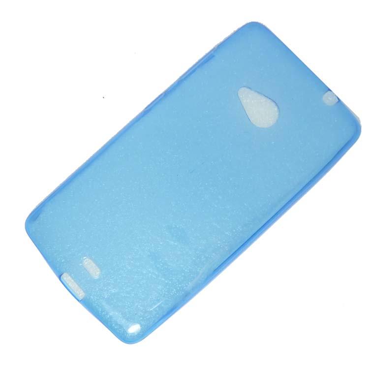 Microsoft Lumia 535 Silicone Case Ultra Slim 0.3mm Blue image