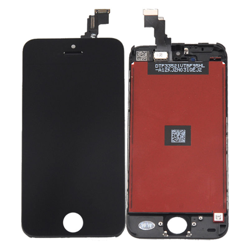 iPhone 5C Touch Screen + LCD Black image