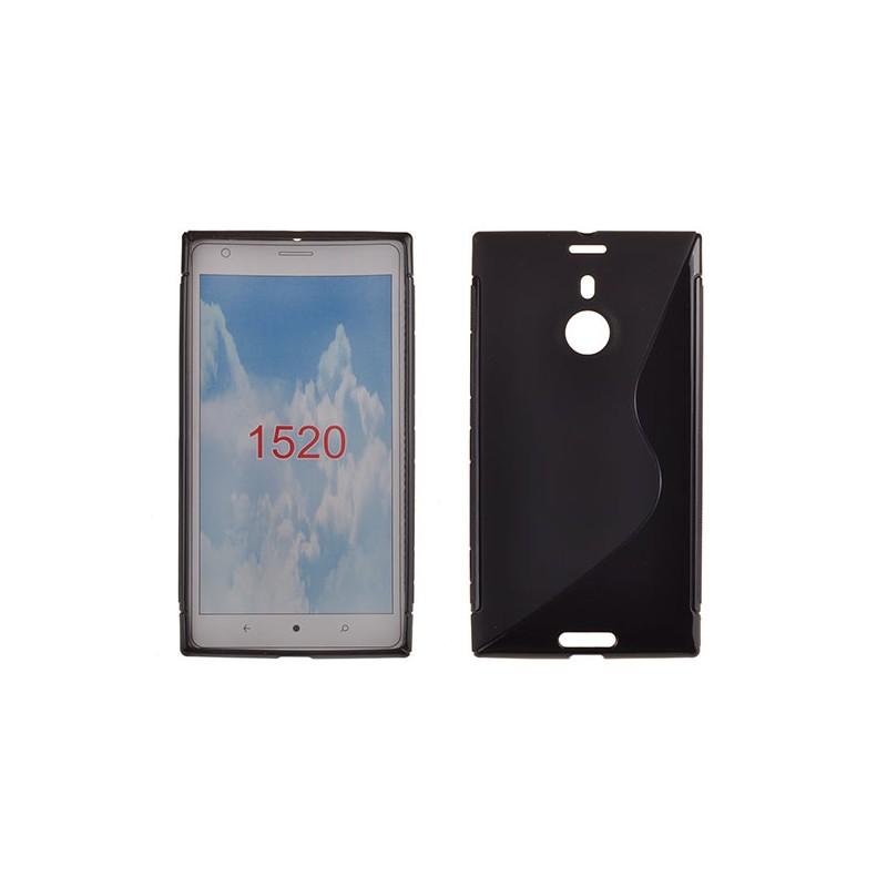 Microsoft Lumia 1520 TPU Silicone Case S-Line Black image