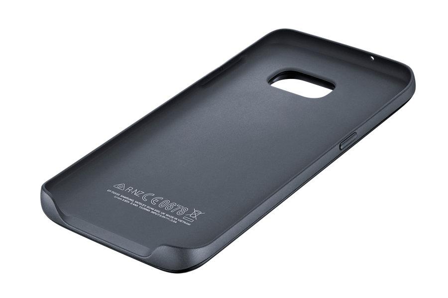 Ασύρματο Κάλυμμα Φόρτισης 3100mAh Samsung Galaxy S7 Edge EP-TG935BBE Black