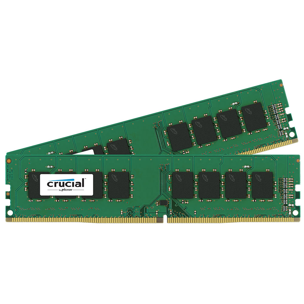 Crucial By Micron 16GB Ram KIT (2X8GB) DDR4 2133MHz CL15 CT2K8G4DFD8213 image