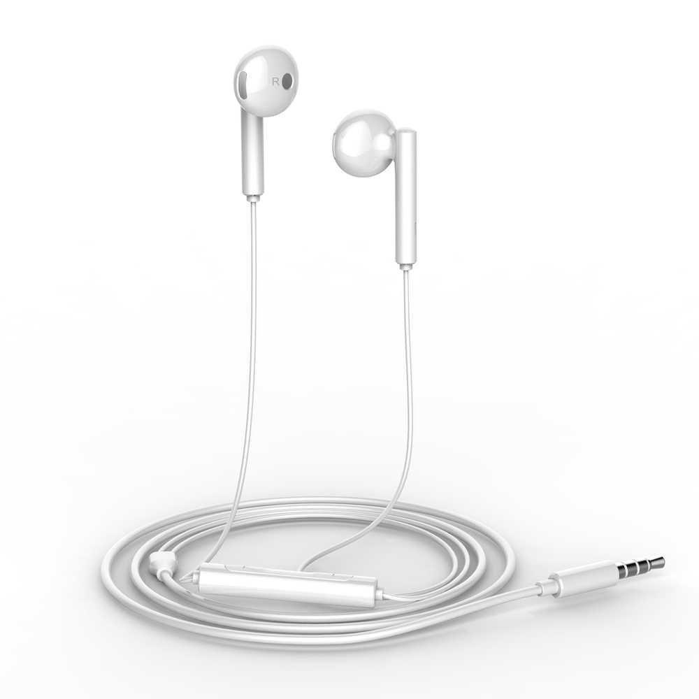 Handsfree Earphones Huawei AM115 White Original ΜΕ ΣΥΣΚΕΥΑΣΙΑ image
