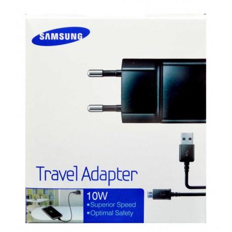 Γνήσιος Φορτιστής Με Συσκευασία Samsung ETA-U90EBE 2A Black (Αντάπτορας & Καλώδιο USB) image