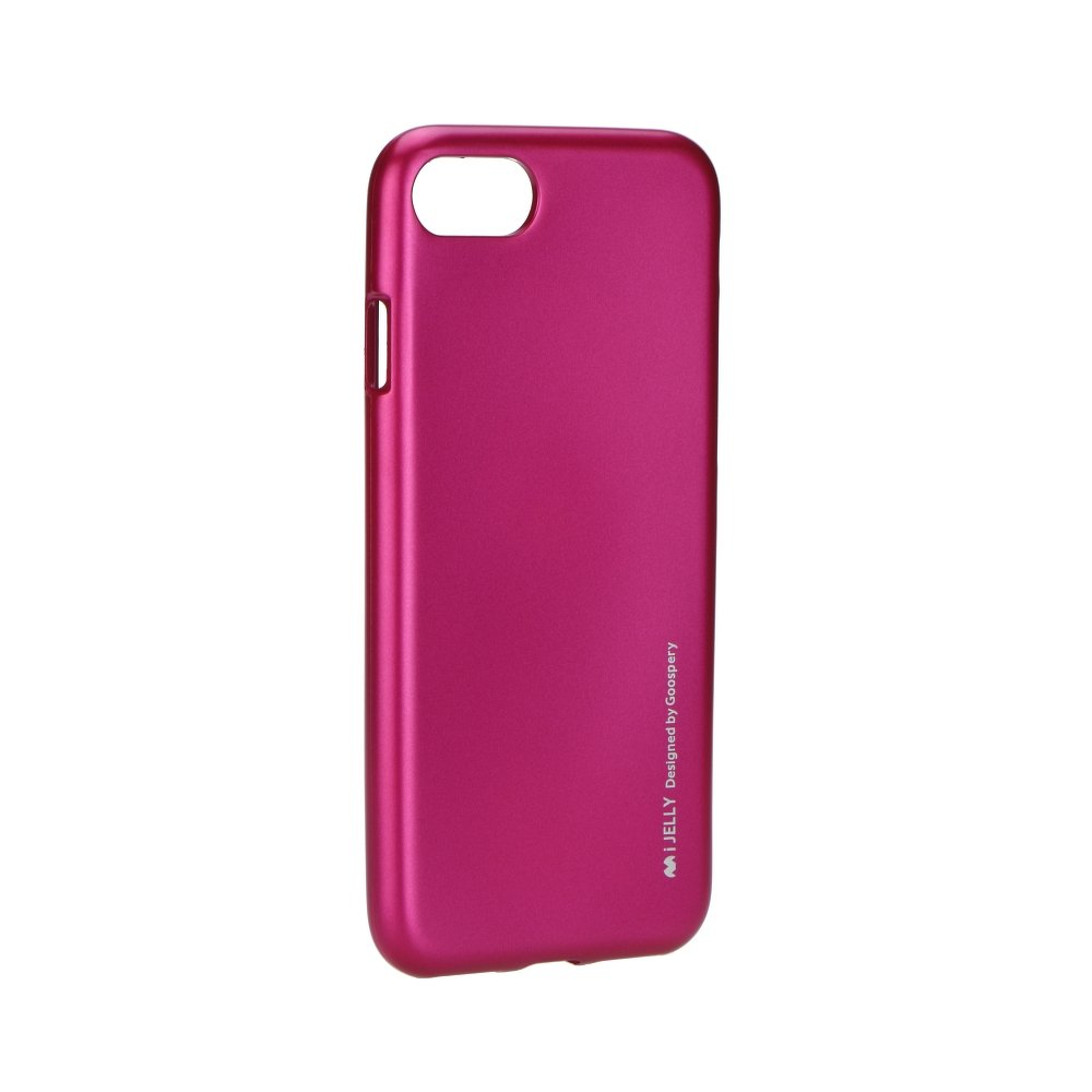 "iPhone 7 4.7"" iJelly Silicone Case Mercury Pink image"
