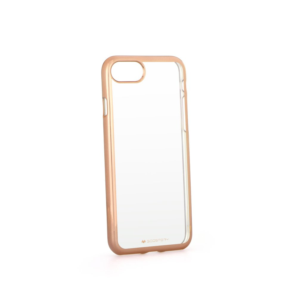 "iPhone 7,iPhone 8 4.7"" Jelly Ring 2 Silicone Case Mercury Gold image"