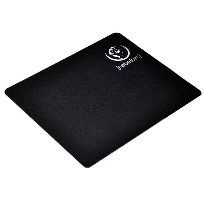 Gaming Mousepad Rebeltec SliderS 240x200x3 Black