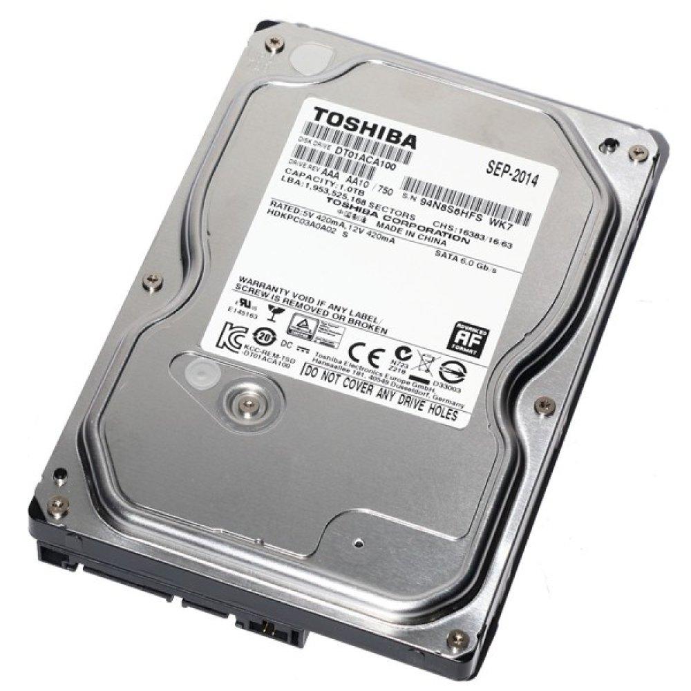 "HDD Toshiba 3.5"" 1TB 7200, 32mb, SATA 3 DT01ACA100 image"